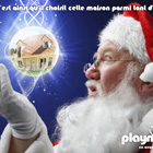 Campagne de noël playmobil, Photoshop