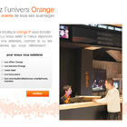 Landing page clients Orange, Photoshop